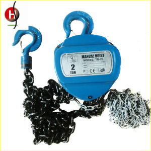 High Quality Hsc Type Chain Hoist Durable Pulley Chain Block pictures & photos