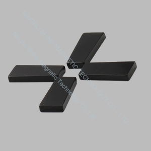 Plating Black Epoxy Trapezoid Shaped Neodymium Magnet pictures & photos