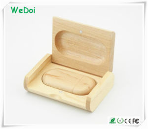 Hot Selling Wooden USB Pen Drive with 1 Year Warranty (WY-W18) pictures & photos