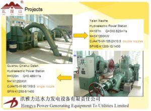 High Quality Pelton Turbine Genaror for Power Plant pictures & photos