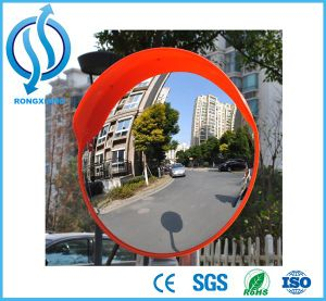 Indoor Orange Safety Parking Wide Angle PP/ABS Convex Mirror pictures & photos
