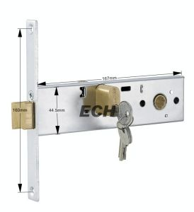 Aluminum Alloy Sliding Door Bolt Lock (ESD-012)