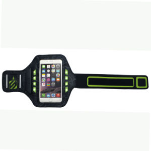 out Door Sport Rechargeable LED Armband Phone Case with Ce/RoHS pictures & photos