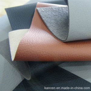 Abrasion Resistant Car Seat Leather of CPU (KC-D122)