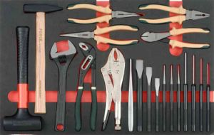 582PCS Professional Heavy Duty Trolley Tool Set (FY582A) pictures & photos