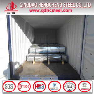 Bwg28 28 Gauge Z60 Corrugated Metal Sheet pictures & photos