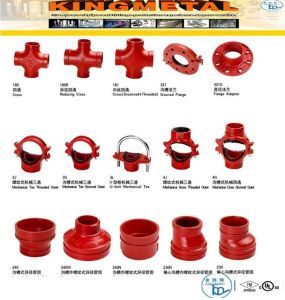 FM/UL Approved Grooved Pipe Fitting for 90 Elbow pictures & photos