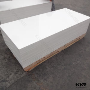 12mm Artificial Stone Building Material Pure White Solid Surface pictures & photos