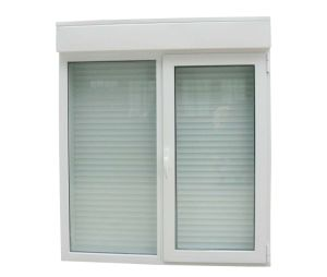 Aluminium Sliding Window, Roller Shutter and Retractable Mosquito Net (Monoblock) pictures & photos