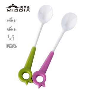 Zirconia Ceramic Cutlery Spoon for Baby/Kids Themslves Feeding pictures & photos