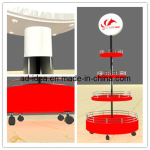 Light Box Display Stand & Adjustable Lightbox Display Rack & Rack Display with Lightbox pictures & photos