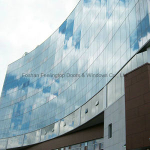 Heat and Sound Proof Tinted Glass Curtain Wall (FT-CW) pictures & photos