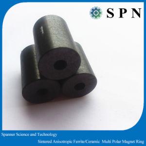 Permanent Magnet Ferrite Ceramic Motor Ring Magnet pictures & photos