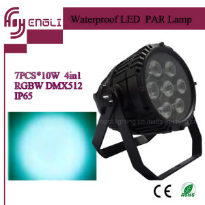 7PCS LED 4in1 Outdoor PAR Light for Stage Lighting (HL-032) pictures & photos