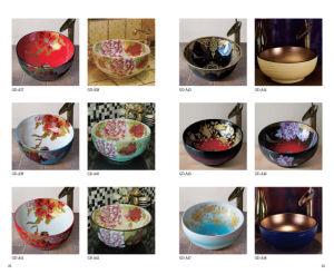 Hotel Bathroom Classical Art Wash Bowl (D10) pictures & photos