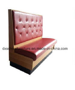 Red Color Sofa Couch Loveseat Two-Seater pictures & photos