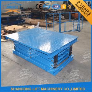 China Manufacture Stationary Hydraulic Scissor Lift Platform Price pictures & photos