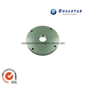 Precise Stainless Steel Round Plate for Mechanical Joints pictures & photos