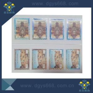 Hot Stamping Stamp and Ticket with Customer Design pictures & photos