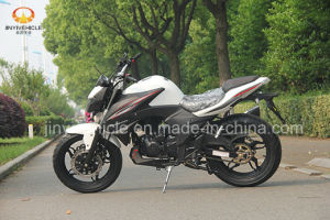 White with Black Racing Motorcycle pictures & photos