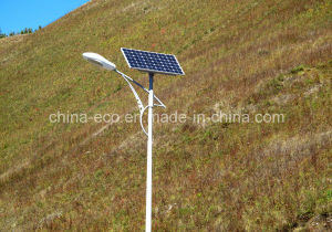 20W Solar Street Lighting with 4m High Pole