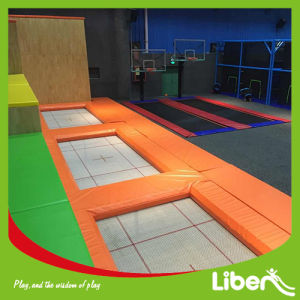 Optional Color Indoor Trampoline Park with Olympic Trampoline pictures & photos