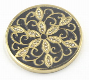 Fashion Gold Plating Hard Enamel Coin pictures & photos
