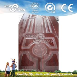 HDF Moulded Melamina Door Skin Facing with Various Patterns pictures & photos