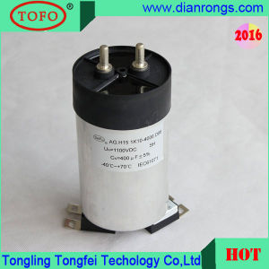 Produce Solar Power DC Link Capacitor 500UF 1100VDC pictures & photos