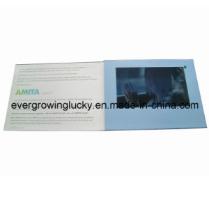 A4 Size 10inch LCD Screen Video Card pictures & photos