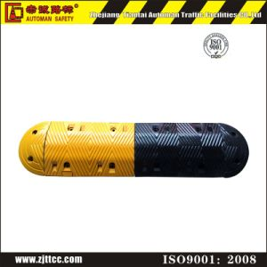 500*330*70mm Heavy Duty Traffic Safety Recycled Rubber Speed Bump pictures & photos