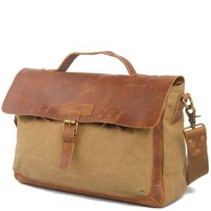Canvas Men′s Patchwork Leather Computer Bags (RS-2012DC) pictures & photos