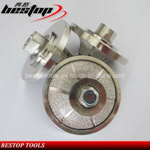 Vacuum Brazed Stone Router Bit for Manual Profiling Machine pictures & photos