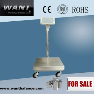 Electronic Digital Platform Scale 100kg pictures & photos