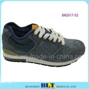 Hot Sale PU Materails Brand Running Shoes pictures & photos