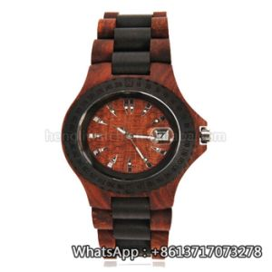 New Environmental Protection Japan Movement Wooden Fashion Watch Bg171 pictures & photos