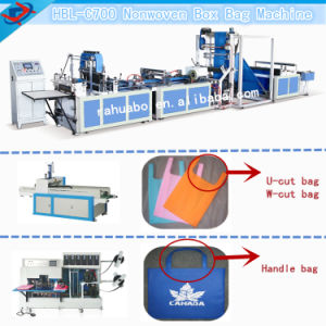Latest Design Non Woven Bag Making Machine pictures & photos
