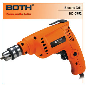 300W 6mm Electric Drill with Hook (HD0952) pictures & photos