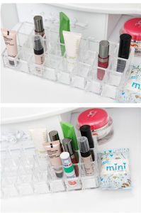 Acrylic Lipstick Holder Organizer 3 Rows X 8 Slots pictures & photos