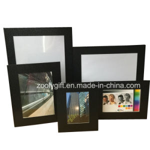 8X10 Black Textured Art Paper Promotional Gift Photo Frame pictures & photos