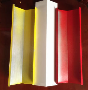 Aluminum Powder Coated Yellow Color Decorative V-Shaped Ceiling pictures & photos