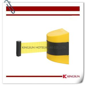 Hotel Sports Use Products Wall Mount Retractable Belt Barrier pictures & photos