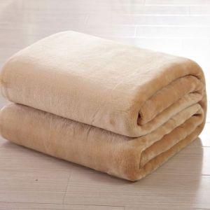 Super Soft Plain Dyed Polar Fleece Blanket China Facrtory Wholesaler Popular Polar Fleece Blanket pictures & photos