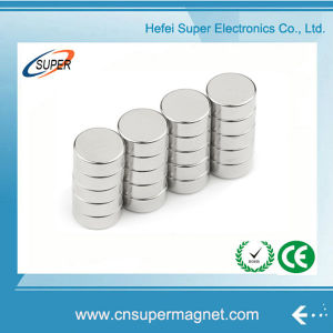 Permanent N52 Neodymium Cylinder Motor Magnet pictures & photos