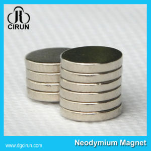 Disc NdFeB Neodymium Magnet for Industrial Application pictures & photos