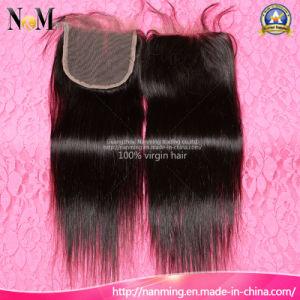 Peruvian Hair Top Closure Unprocessed Virgin Hair Full Lace Closure pictures & photos
