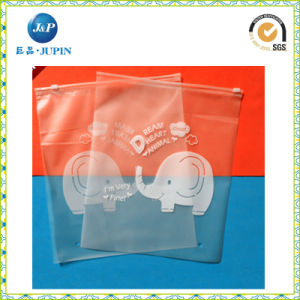Printed Packing Plastic Zipper Bag for Clothes (JP-plastic023) pictures & photos