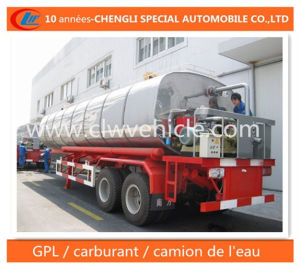 25 Cbm Asphalte Reservoir Semi-Remorque 2 Essieux Trailer pictures & photos