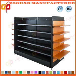 Double Sides Gondola Display Store Stand Supermarket Shelves (ZHs651) pictures & photos