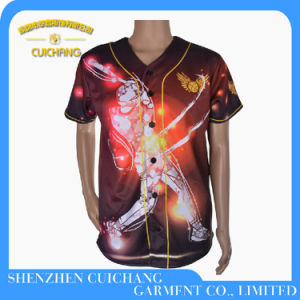Dye-Sublimation Printing Cheap Wholesale Plain Baseball Jerseys Best Selling pictures & photos